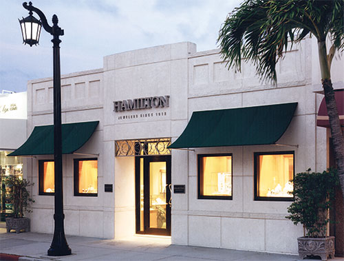 Hamilton Jewelers Worth Ave. Palm Beach