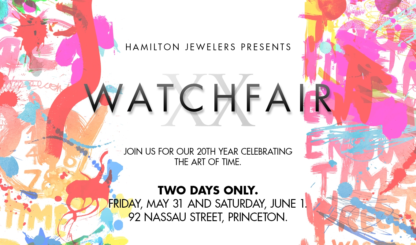 Hamilton Jewelers Presents..Watch fair XX